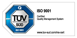ISO 9001 Certified Quality Management System